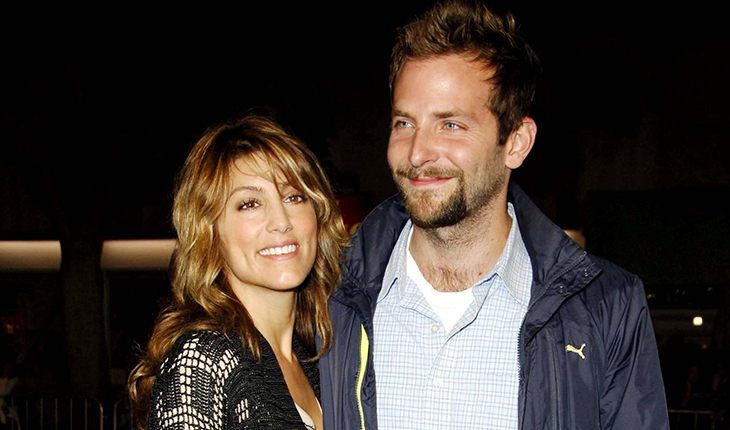 Bradley Cooper and his first wife Jennifer Esposito