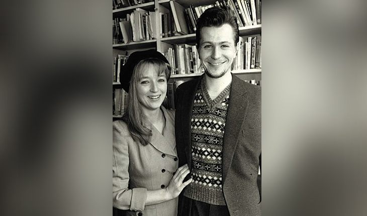Gary Oldman and his first wife Leslie Manville