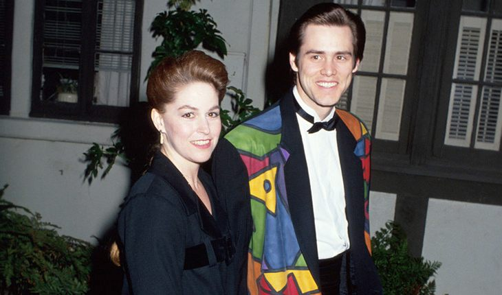 Jim Carrey and his first wife Melissa Womer