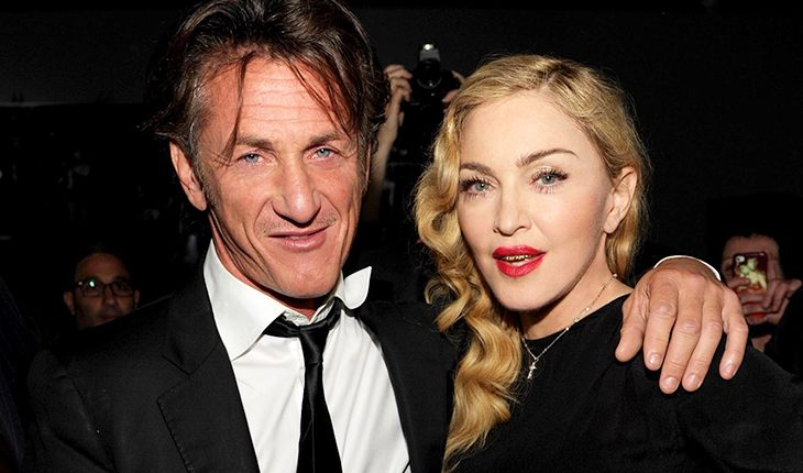 Sean Penn and his first wife Madonna