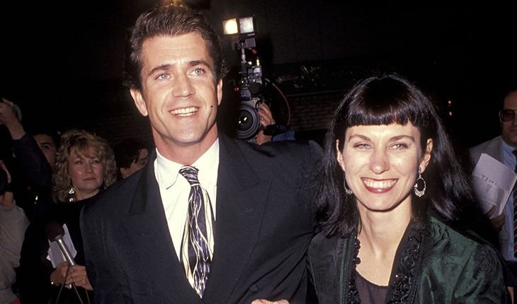 Mel Gibson and his ex-wife Robin Moore