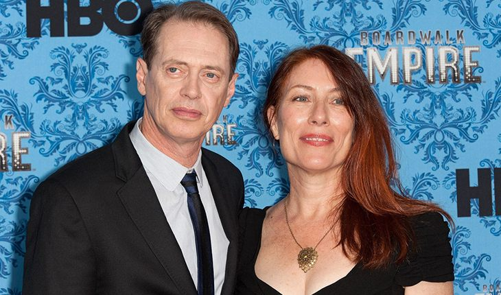 Widowed Steve Buscemi and his wife Joe Andres