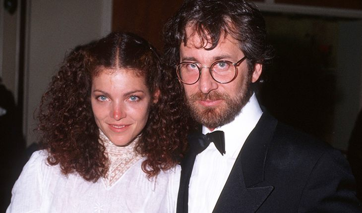 Steven Spielberg and his first wife Amy Irving