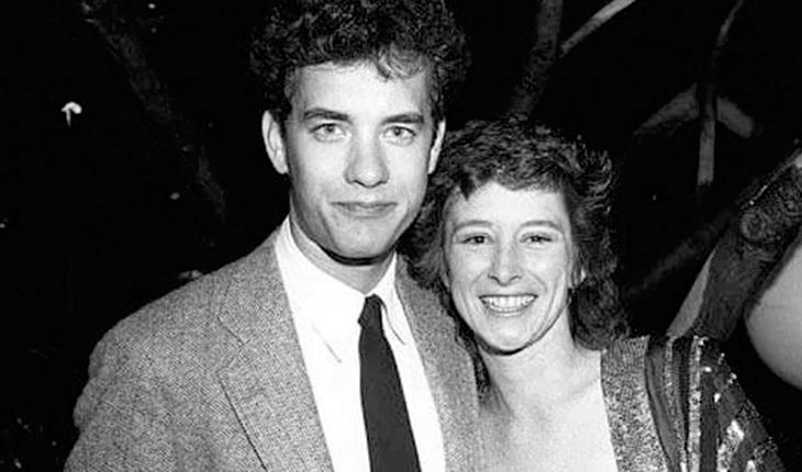 Tom Hanks and his first wife Samantha Lewis