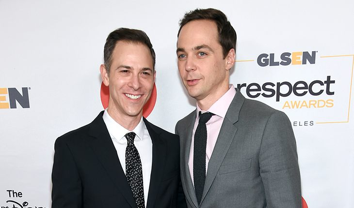 Jim Parsons and his husband Todd Spiewak