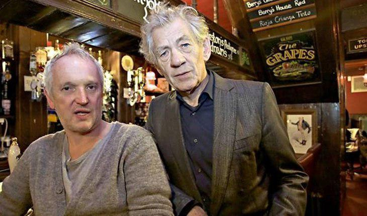Ian Mckellen and Brian Taylor were dating in their youth