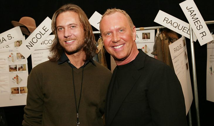 Designer Michael Kors and his husband Lance LePere