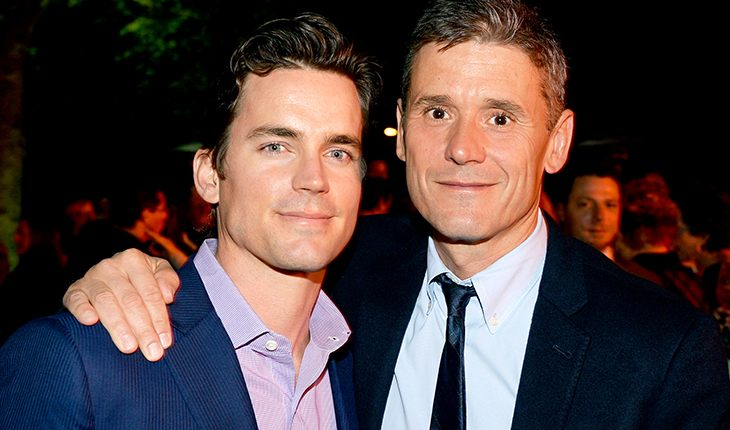 Matt Bomer and his husband Simon Halls