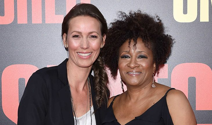 Wanda Sykes with her wife Alex