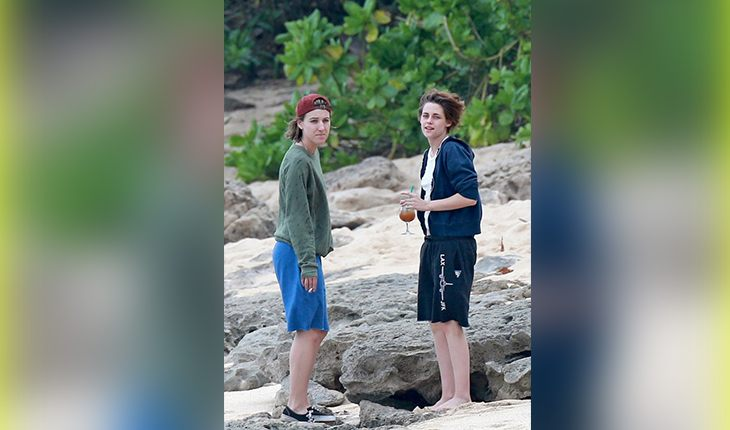 Kristen Stewart and her girlfriend Alicia Cargail