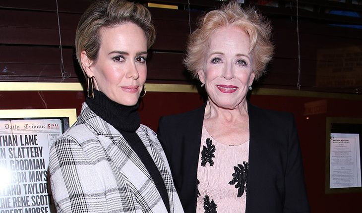 Sarah Paulson and her sweetheart Holland Taylor