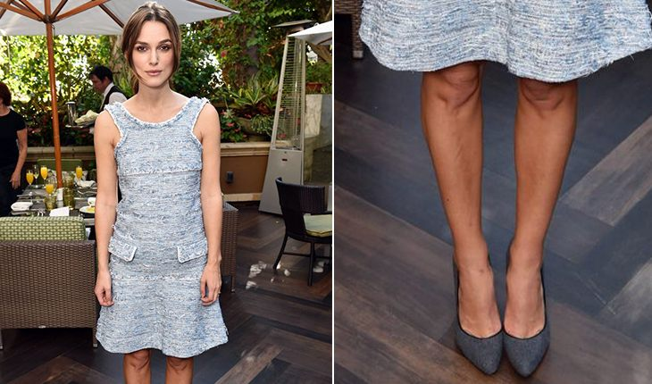 Kira Knightley`s crooked legs