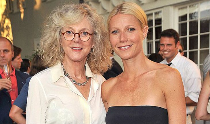 Gwyneth Paltrow and her mom Blythe Danner