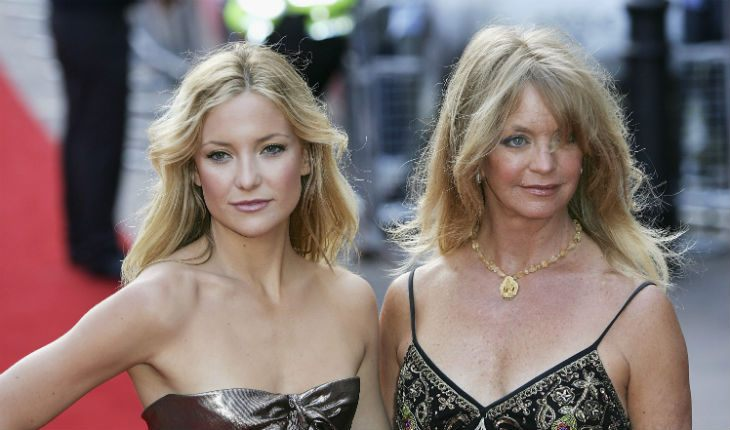Kate Hudson and her mom Goldie Hawn