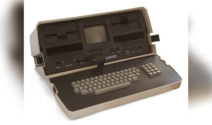 The first laptop (1981)