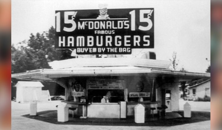The first McDonalds (1940)