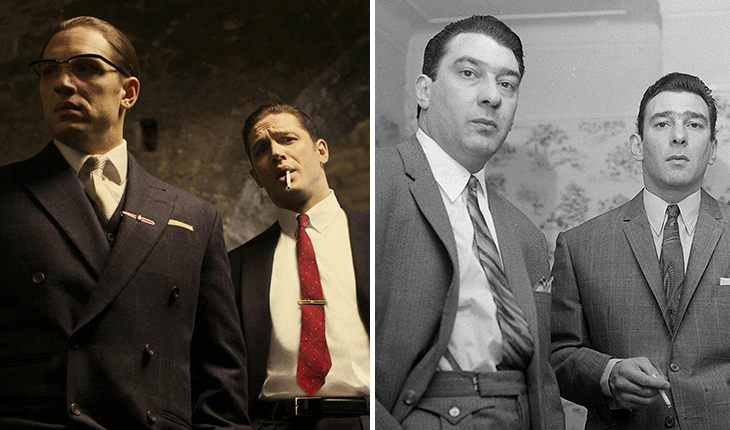 Tom Hardy (Legend) – Kray twins