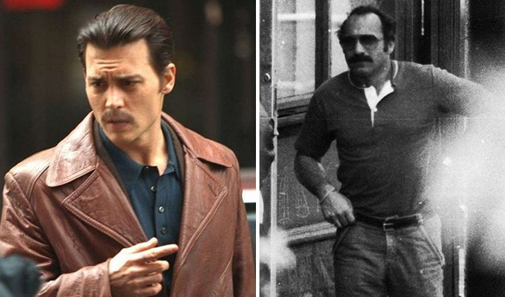 Johnny Depp (Donnie Brasco) – Joseph Pistone