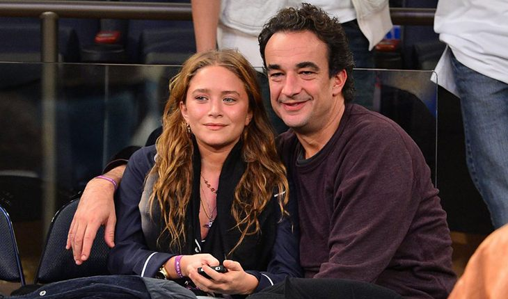 Olivier Sarkozy and Mary-Kate Olsen (17 years)