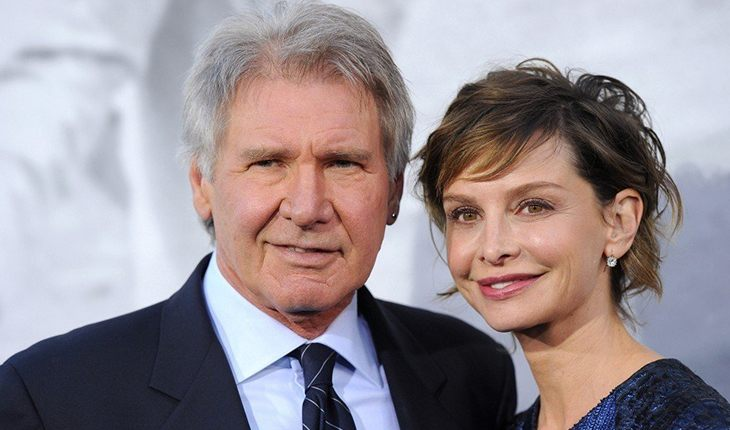 Harrison Ford and Calista Flockhart (22 years)