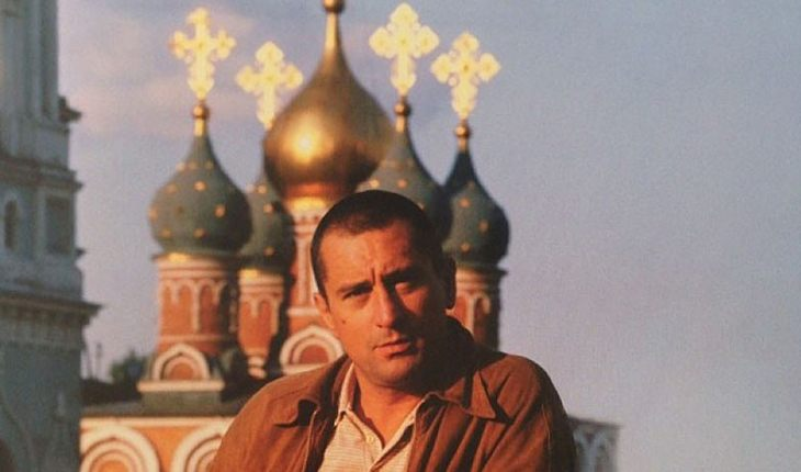Robert De Niro in the USSR (1982, while filming in a movie about Russian ballerina Anna Pavlova)