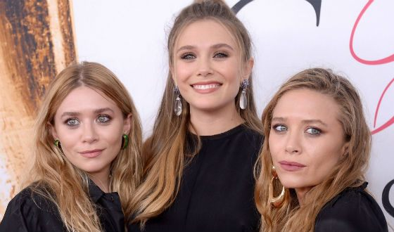 Ashley, Mary-Kate and Elizabeth Olsen