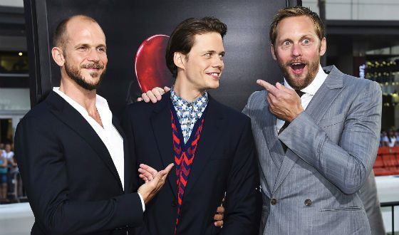 Gustaf, Bill and Alexander Skarsgard