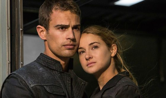 Tris and Four («Divergent»)