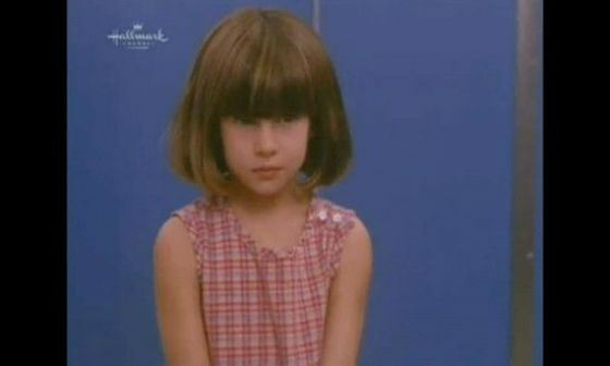 Shailene Woodley as a child (movie «Replacing Dad», 1991)