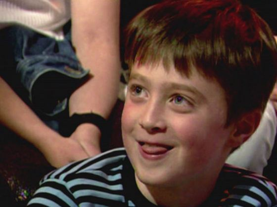Daniel Radcliffe as a child
