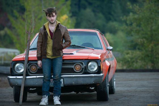 Daniel Radcliffe in the movie