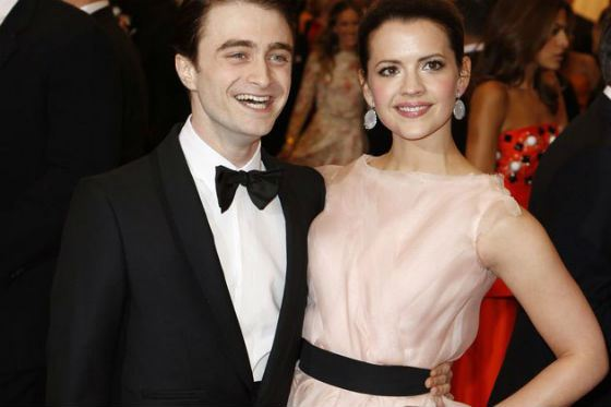 Daniel Radcliffe and Rosie Coker