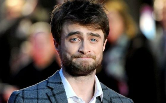 Daniel Radcliffe with a beard