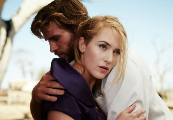 The Film The Dressmaker: Liam Hemsworth and Kate Winslet
