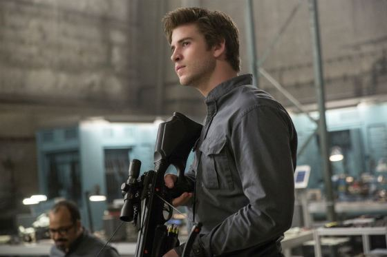 In the Third Part of The Hunger Games, Liam Hemsworth's Character Opened Up