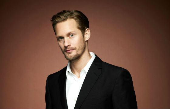 The Swedish handsome man Alexander Skarsgård