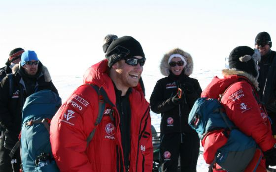 Alexander Skarsgård, Prince Harry and Dominic West visited the South Pole