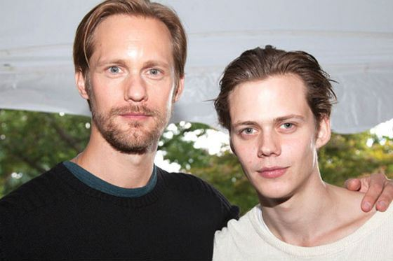 Alexander and Bill Skarsgård are the successors of their acting dynasty