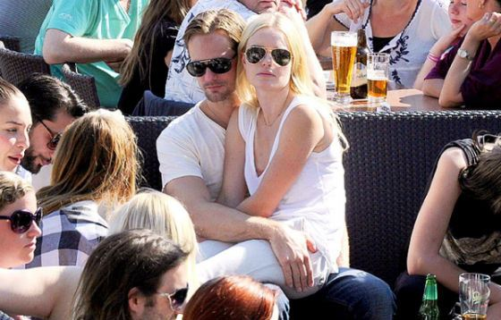 Alexander Skarsgård and Kate Bosworth on vacation