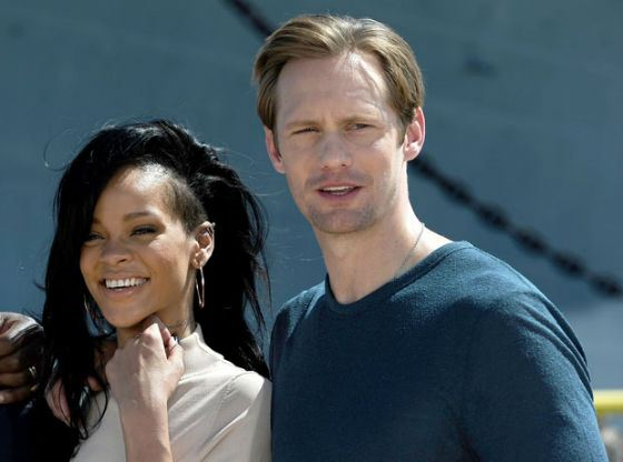 Rihanna and Alexander Skarsgård had a short affair