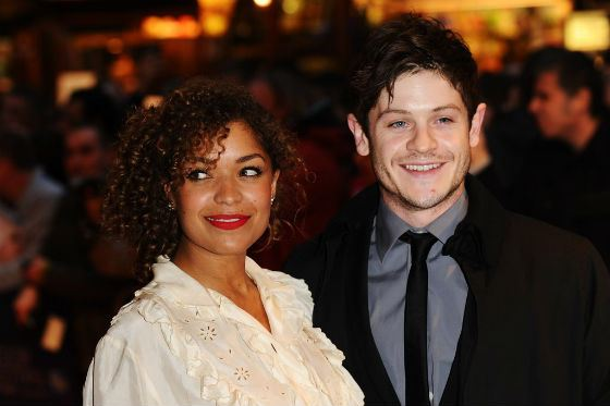 Iwan Rheon and Antonia Thomas met on the set of