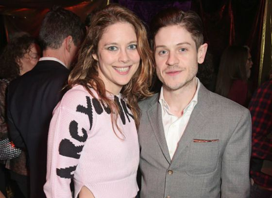 In the photo: Iwan Rheon and Zoe Grisdale