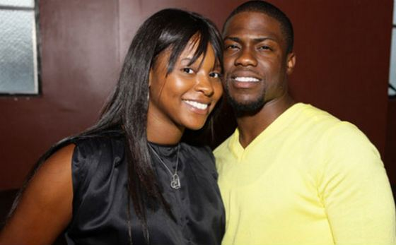 Kevin Hart and his ex-wife