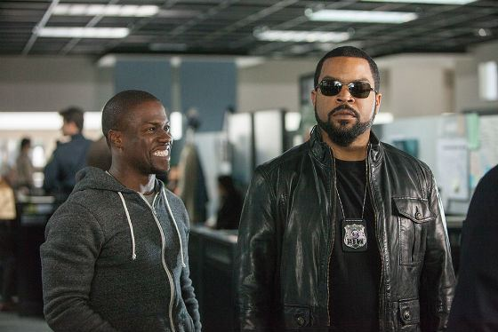 Kevin Hart and Ice Cube starred in the comedy Ride Along 2