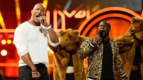 Kevin Hart and Dwayne Johnson are friends in real life