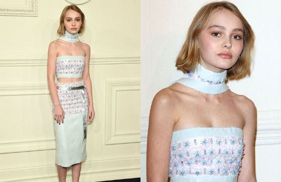 Lily-Rose Depp's weight is only 40 kg!