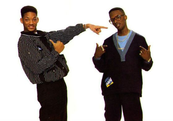 Will Smith was the mastermind behind funny lyrics, while his friend created the beat