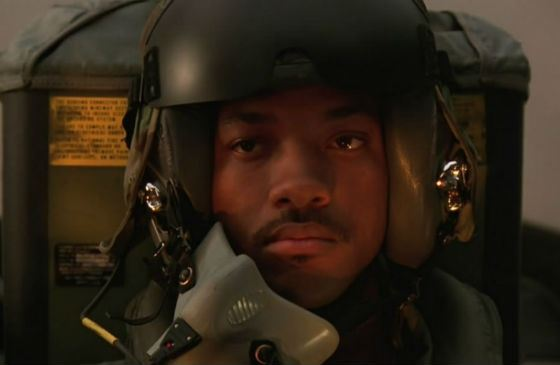 Young Will Smith in the epic «Independence Day»