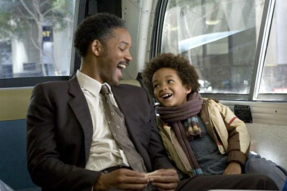 «Pursuit of Happyness» Will and Jaden Smith portrayed a homeless family