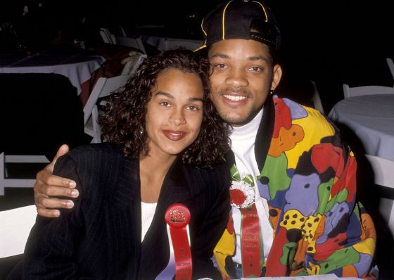 Will Smith with his first wife, Sheree Zampino